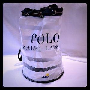 RALPH LAUREN US OPEN PLASTIC DUFFLE BAG